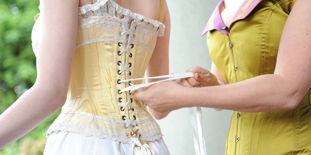 Custom corset fitting appointment