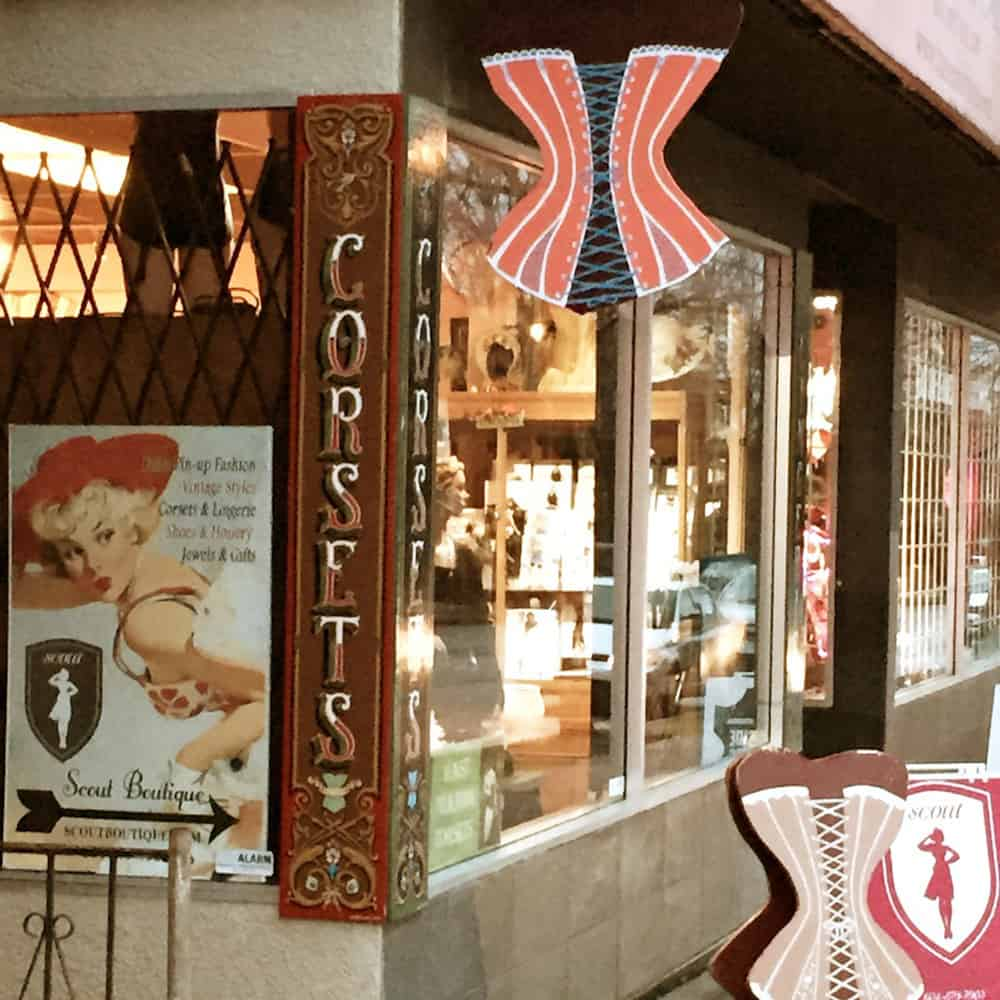 Lace Embrace Atelier Shop Window