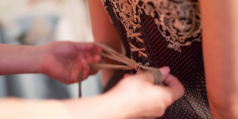 Virtual corset consultation