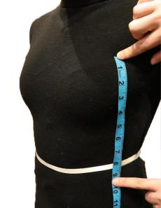 Side Body Waist to Top Corset