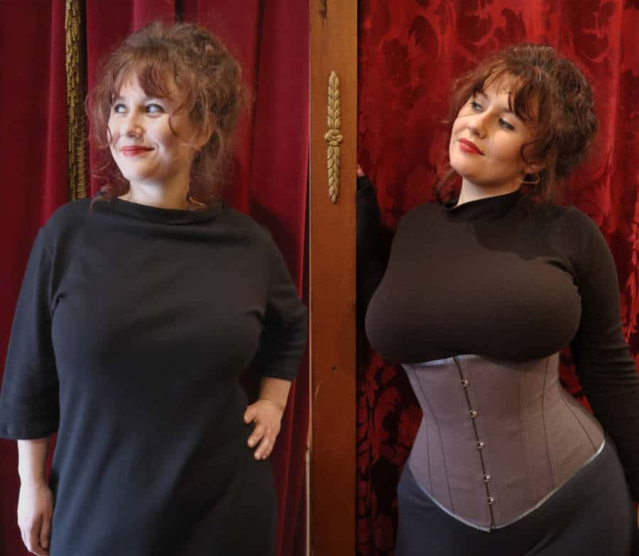 Cincher corset before after