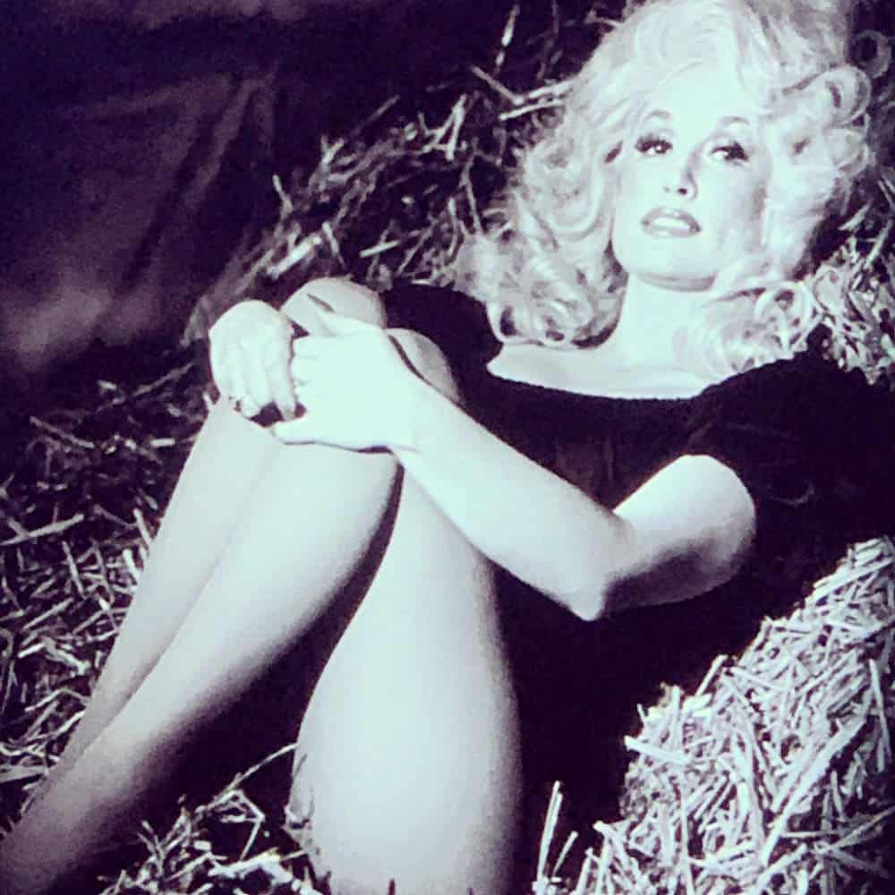 Dolly Parton Black and White picture
