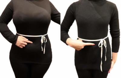 Line around waist