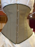 Sage corset