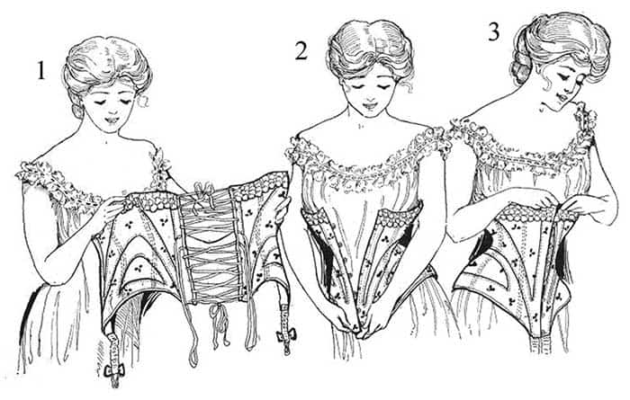 Lacing the corset
